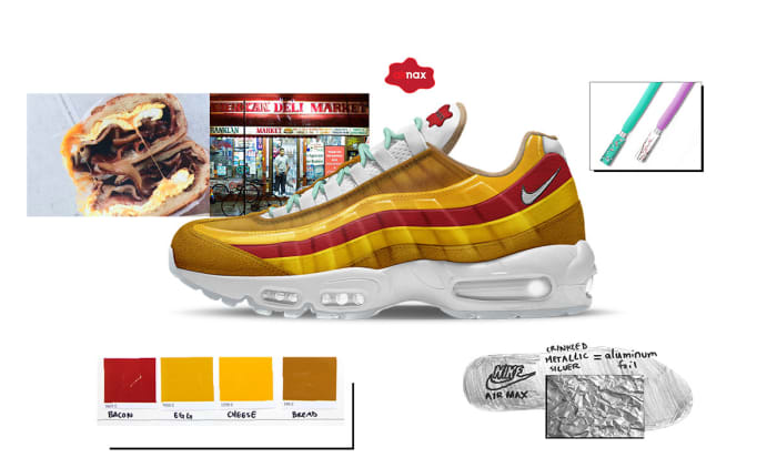 NYC: Air Max 95 BEC Bodega by Kevin Louie