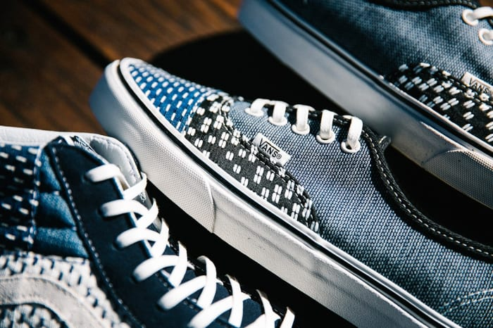 343f7f1d0b Vans  New Patchwork Pack Is Inspired by the Art of Japanese Boro ...