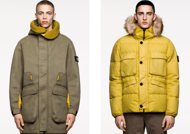 Stone Island Fall/Winter 2018 Icon Imagery