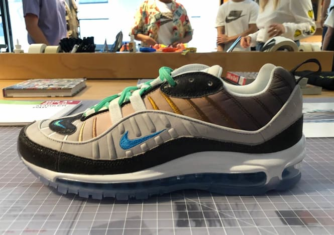 NYC - Air Max 98 La Mezcla by Gabrielle Serrano