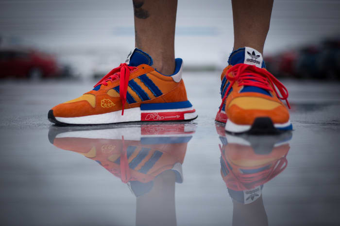 new style 1c880 d6eed ... Dragon Ball Z x adidas ZX500 RM