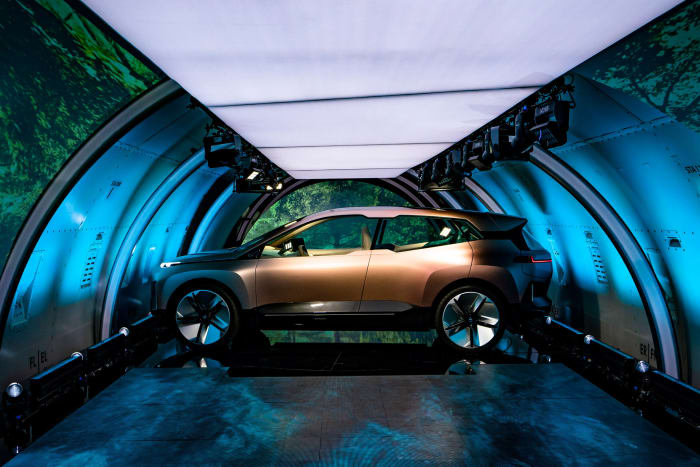 BMW Vision iNext Concept Car