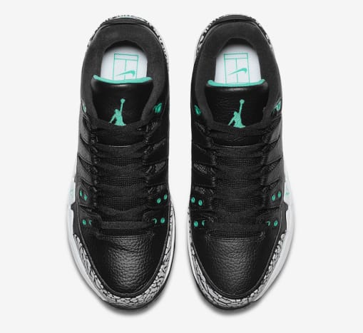 7f67162e45412 The Nike Zoom Vapor Tour AJ3 Arrives Next Month in a Clear Jade ...