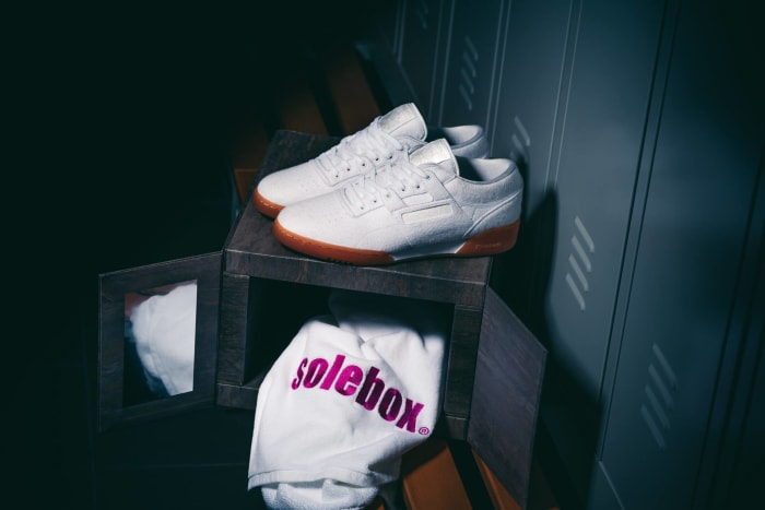 "Solebox x Reebok Workout Lo Clean ""Year of Fitness"""