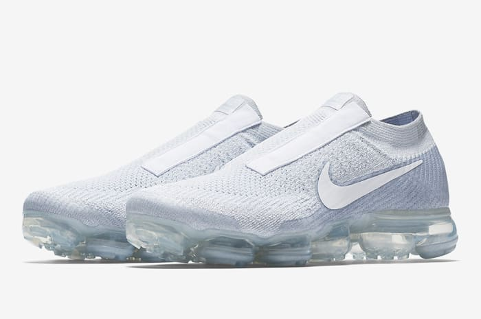 "Nike Laceless Air VaporMax ""Pure Platinum"""