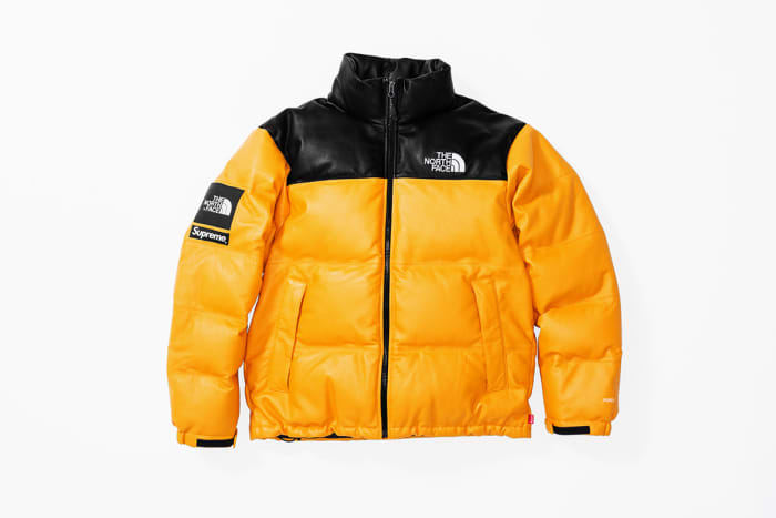 Supreme x The North Face Leather Nuptse Jacket