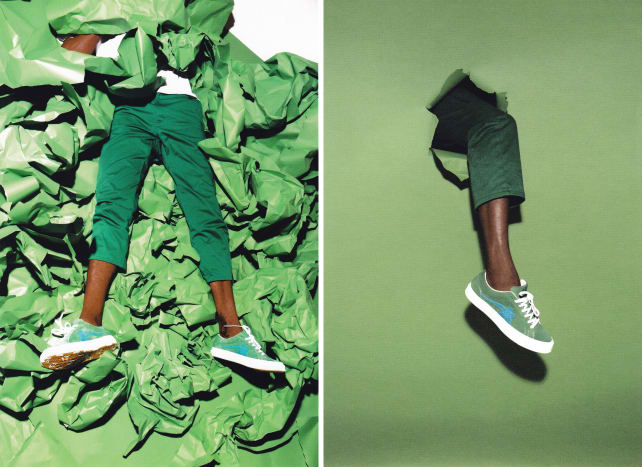 Tyler, the Creator x Converse Golf Le Fleur Collection