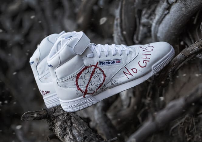 BAIT x Stranger Things x Reebok Ex-O-Fit Clean Hi