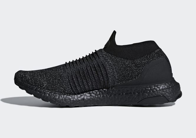 "adidas UltraBOOST Laceless ""Triple Black"""