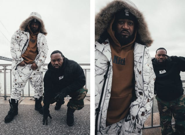 Kith x Timberland Lookbook