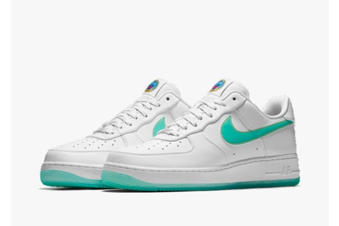 Nike Air Force 1 iD Golden State Warriors