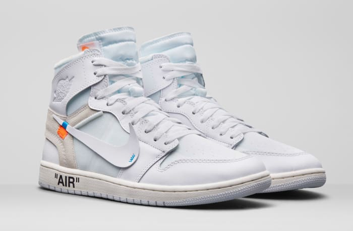 "Virgil Abloh x Air Jordan 1 ""White"""