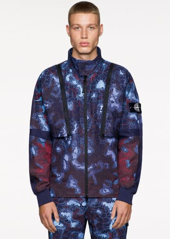 Stone Island Printed Heat Reactive Thermosensitive Fabric Spring/Summer 2019