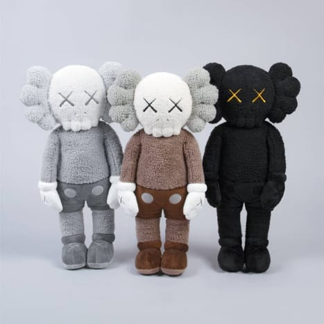 """KAWS:HOLIDAY"" Hong Kong Plush"