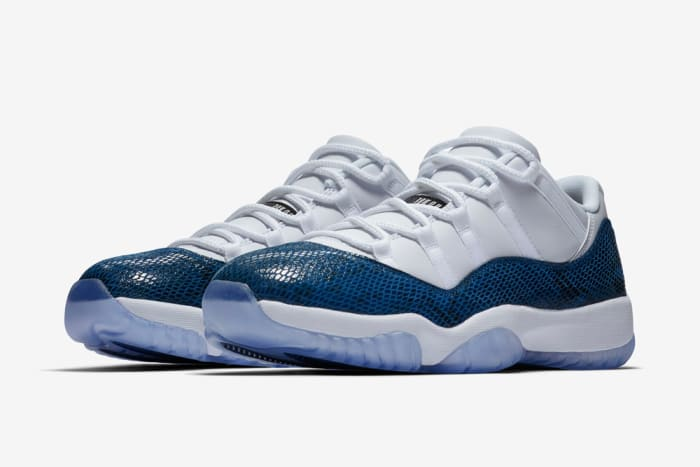"Air Jordan 11 Low ""Snakeskin Navy"" 2019"