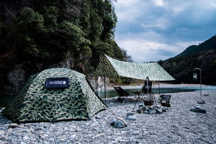 Helinox x BAPE 1ST CAMO Camping Collection 2019