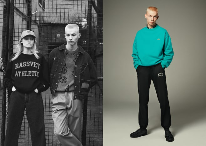 "Gosha Rubchinskiy x Russell Athletic ""Rassvet Athletic"" Collection"