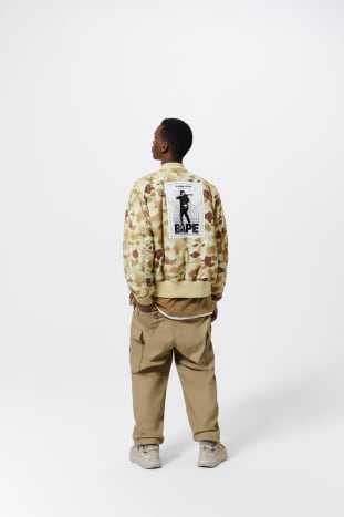 BAPE x Alpha Industries