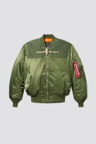 Alpha Industries x Gloverall MA-1 Jacket