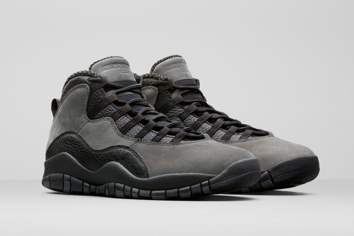 "The Air Jordan 10 ""Dark Shadow"" releases on April 20th"