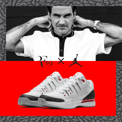 RF19 Pop-Up: Open from August 23 to August 27, it's the first ever curated pop-up that celebrates the legacy of Roger Federer. The space honors the tennis icon's style and New York City's sneaker culture by featuring Federer's latest NikeCourt Collection and a new iteration of the highly anticipated Nike Zoom Vapor Air Jordan 3.