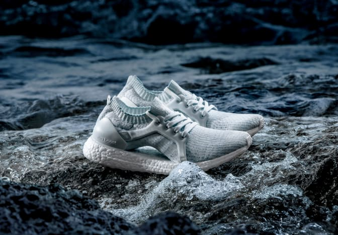 adidas & Parley Reference Coral Bleaching With New White