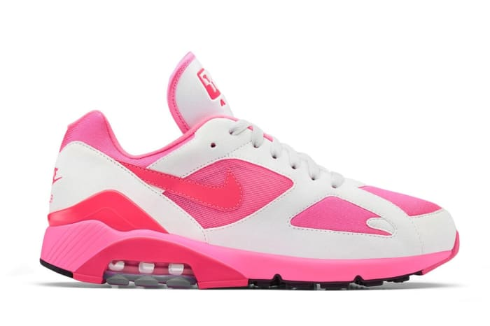 Look for the COMME des GARÇONS HOMME Plus x Nike Air Max 180 to ...