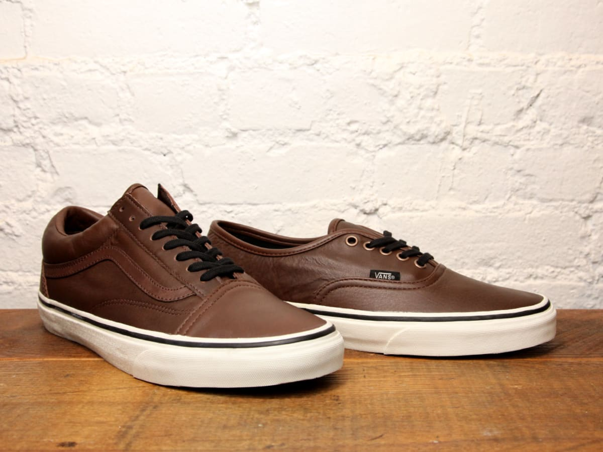VANS Old Skool Authentic - Aged Leather - Ietp