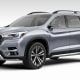 Subaru returns to the realm of three-row SUVs with its new Ascent concept, built on a modified version of the Subaru Global Platform and featuring a new 2.4-liter turbocharged four-cylinder Boxer engine, as well as its symmetrical all-wheel drive system. Subaru has already confirmed production for 2018.