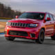 Jeep claims that its new Grand Cherokee Trackhawk is the fastest SUV in the world, with a 0-60 time of 3.5 seconds. That figure is supported by a 707-horsepower supercharged V8, borrowed from two stablemates in the form of the Charger and Challenger Hellcat.