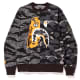 Undefeated x BAPE Tiger Shark Crewneck
