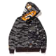 Undefeated x BAPE Tiger Shark Full Zip Hoodie