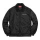 Supreme x Independent Sherpa Fleece Collar Bomber Jacket