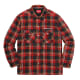 Supreme x Independent Quilted Flannel Shirt