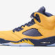 "Air Jordan 5 ""Amarillo/College Navy"""