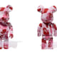 BAPE x MEDICOM TOY BE@RBRICK ABC CAMO 1000%