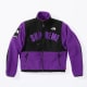 Supreme x The North Face SS19 Denali Fleece Jackets Purple