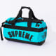 Supreme x The North Face SS19 Duffel Bag Aqua Blue