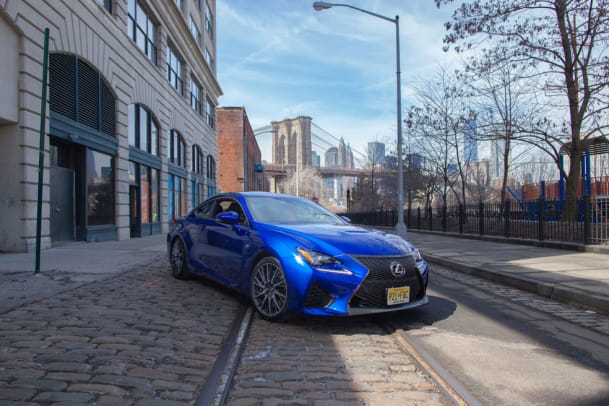 The Stylish 2015 Lexus RC F Is Built to Exceed Expectations - 0