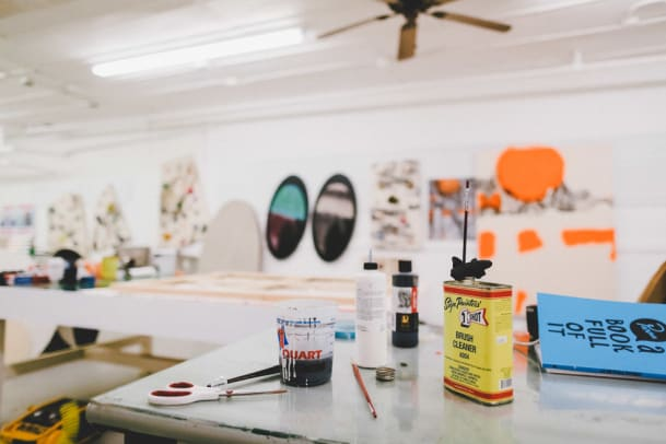 An Inside Look at Eric Elms' Studio - 5