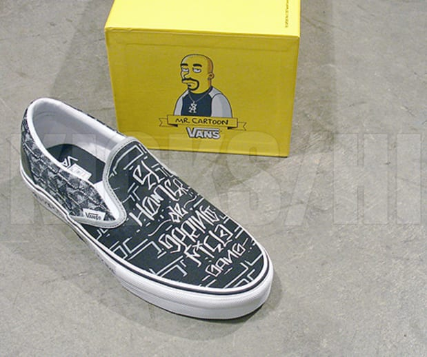 Kicks Hi Vans X The Simpsons Freshness Mag