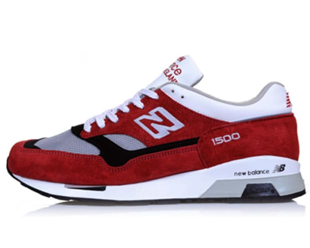 New Balance 1500 Red + Purple Suede