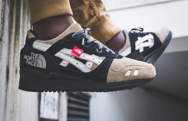 low priced ed990 b13c2 ASICS & The North Face Come Together on This Custom One-Off ...