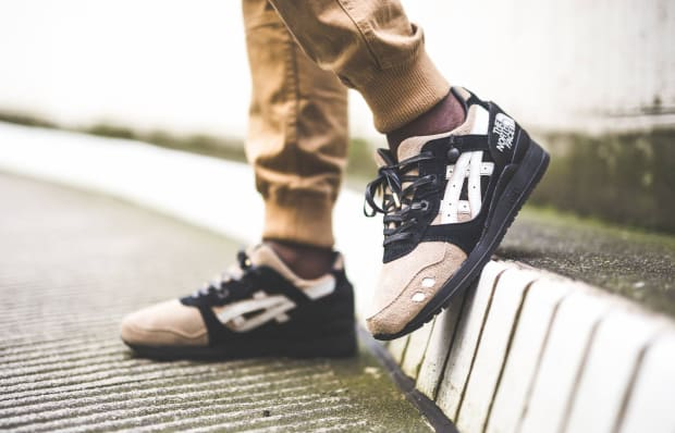 low priced 5b75b 46bb8 ASICS & The North Face Come Together on This Custom One-Off ...