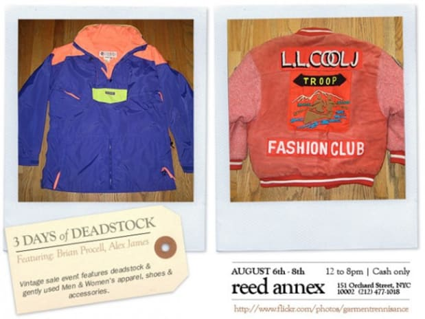 Reed Annex - 3 Days Of Deadstock Pop-Up Shop - Freshness Mag
