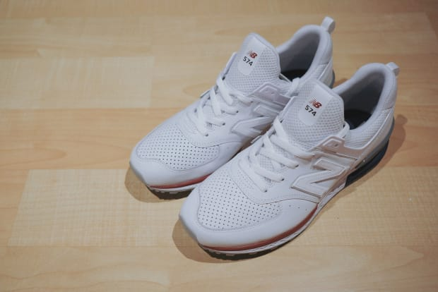 buy popular 78b01 5f862 New Balance Debuts the 574 Sport With an Exclusive Friends ...