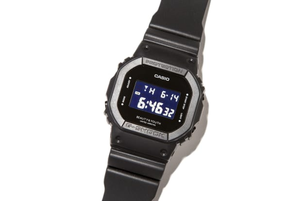 Beauty Youth Teams Up With G Shock On An All Black Dw5600