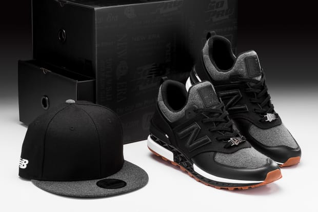 pretty nice 37323 b4a03 New Era and New Balance Join Forces on the 574 Sport With a ...