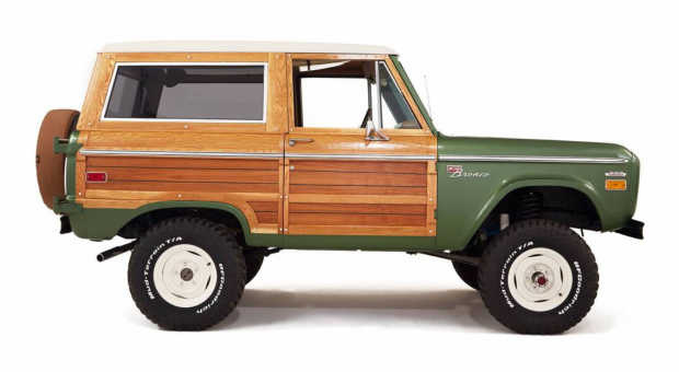 This 1974 Ford Bronco Has Been Restored With Real Wood Paneling - Freshness Mag