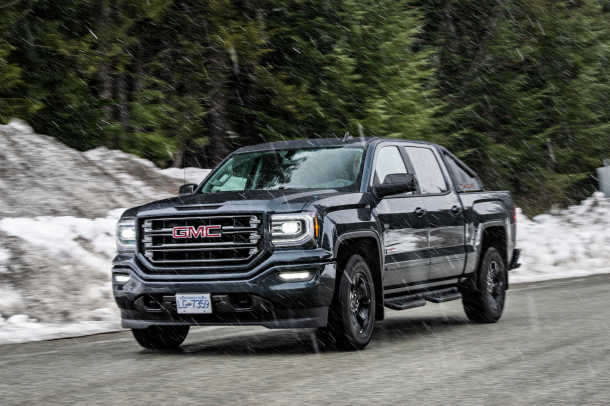 the 2017 gmc sierra all terrain x pushes the limits on the. Black Bedroom Furniture Sets. Home Design Ideas